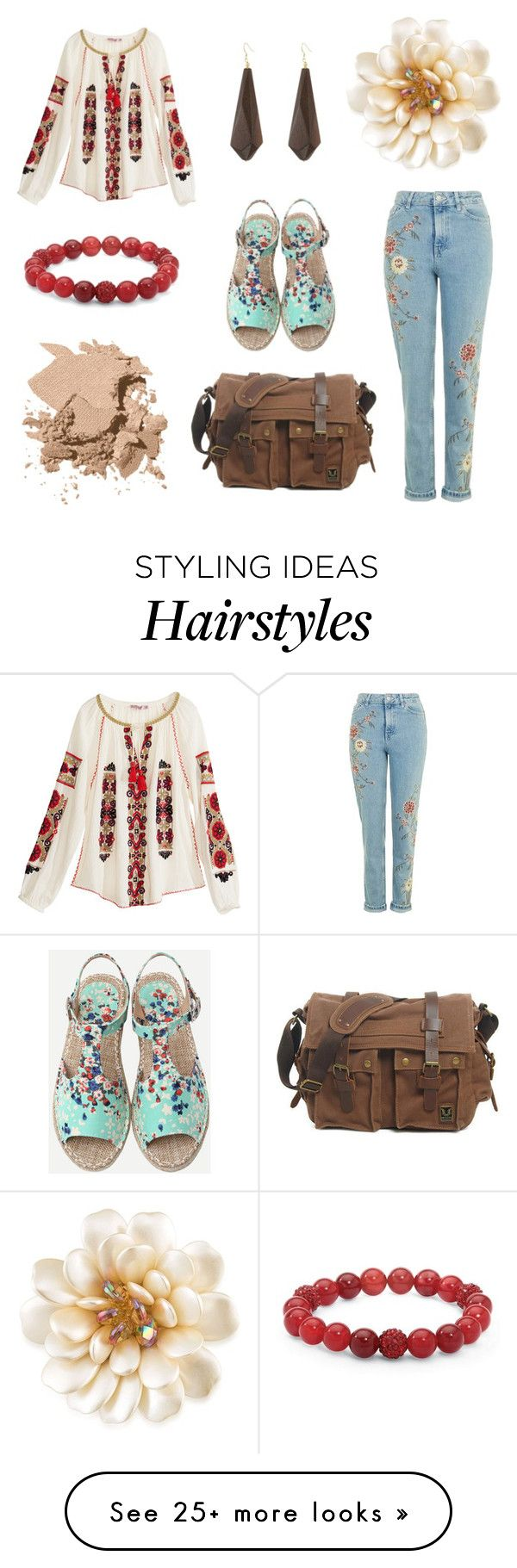 """Wear Some Flowers in Your Hair"" by tankytank on Polyvore featuring Carolee, Calypso St. Barth, Palm Beach Jewelry, Kenneth Jay Lane and Bobbi Brown Cosmetics"