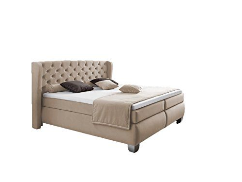 Boxspringbett 140x200 beige  47 best Boxspringbetten von Dreams4Home images on Pinterest ...