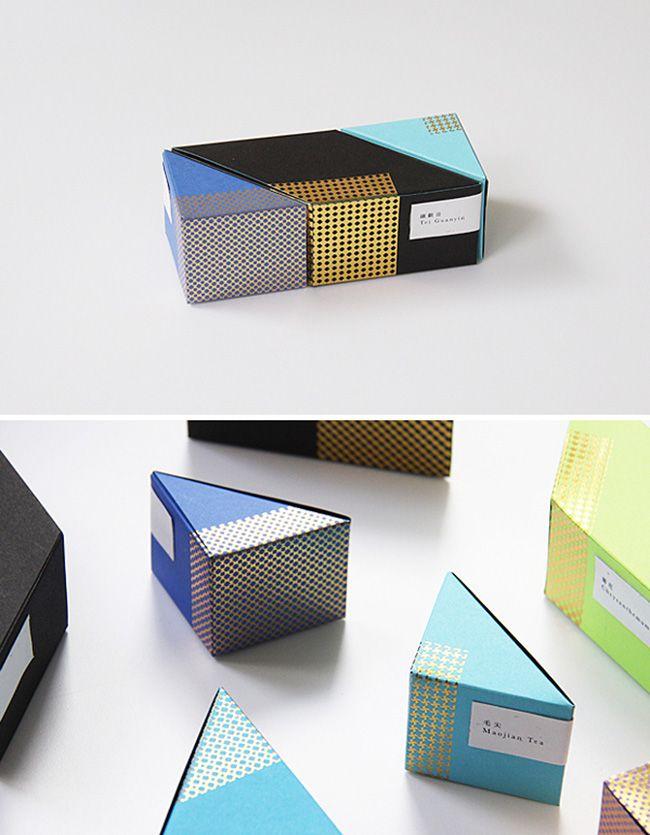 astrobright tea packaging by Ken Lo