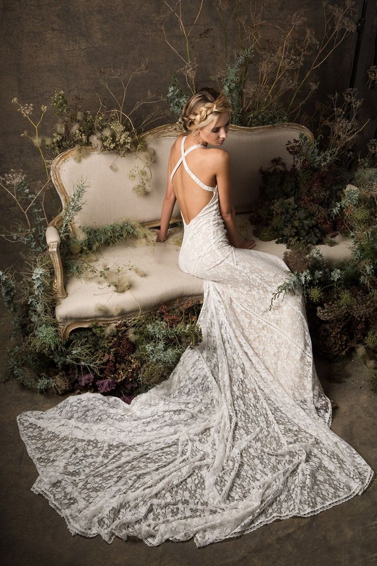 Boho Lace Wedding Dress from Dreamers & Lovers