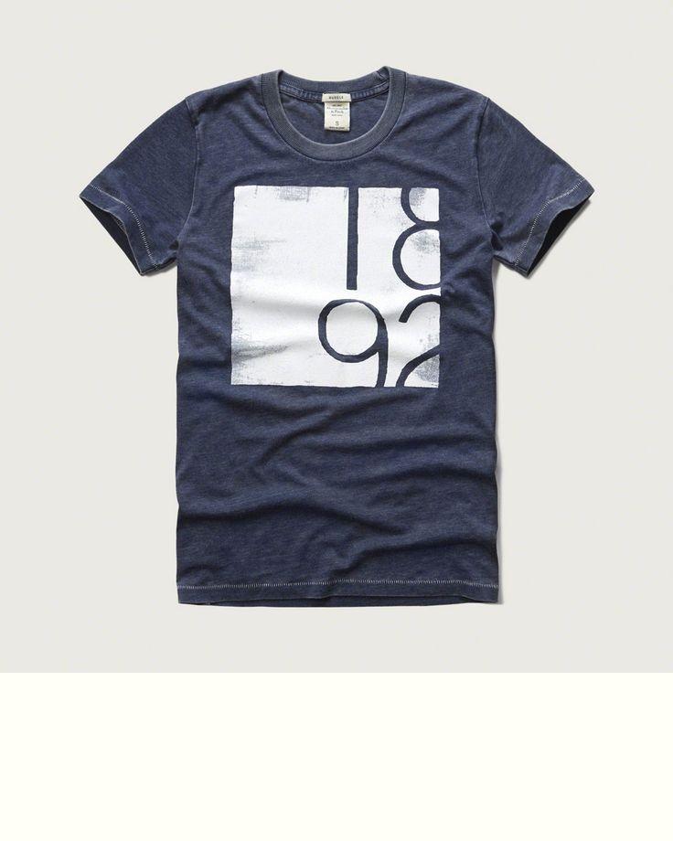 Mens - Graphic Crew Tee   Mens - Sale   eu.Abercrombie.com