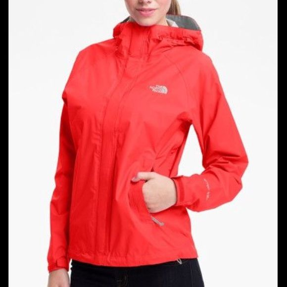 Red North face wind breaker Red North face windbreaker The North Face Jackets & Coats
