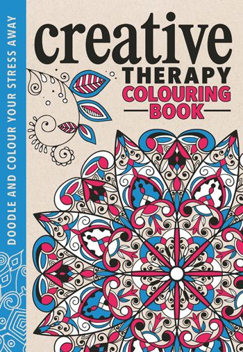 The Creative Therapy Colouring Book Free Pattern Downloads