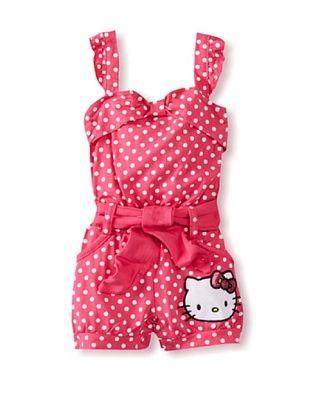 56% OFF Hello Kitty Baby Terry Applique With Mini Sequin Bow (Fuchsia Purple)