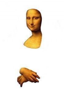 Mona Lisa, thema kunst voor kleuters, kleuteridee.nl , Art theme preschool 6: