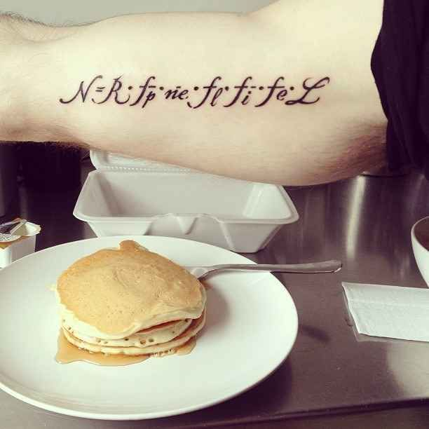 The Drake Equation which is used to estimate the number of active, communicative extraterrestrial civilizations in the Milky Way galaxy. | 23 Incredibly Elegant Science Tattoos