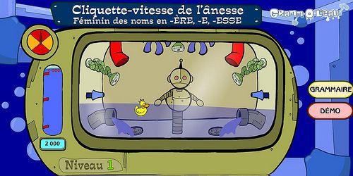 La grammaire en s'amusant… Awesome resource!  Even reteaching the concept!