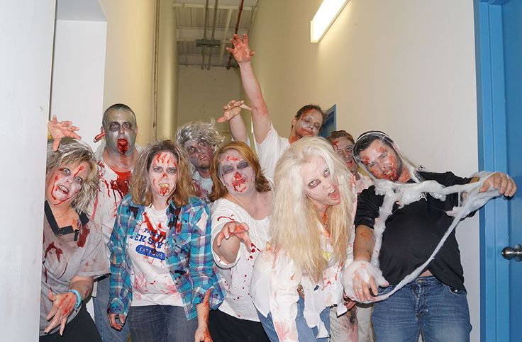 Zombies have taken over TekSavvy!  http://on.fb.me/19bWd86  Visit http://teksavvy.com/  We're Different. In A Good Way.  #halloween #zombies