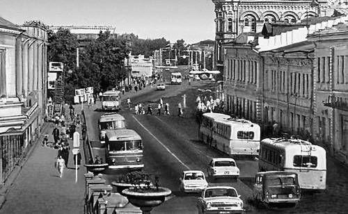 Back in the days. Lenin Street.