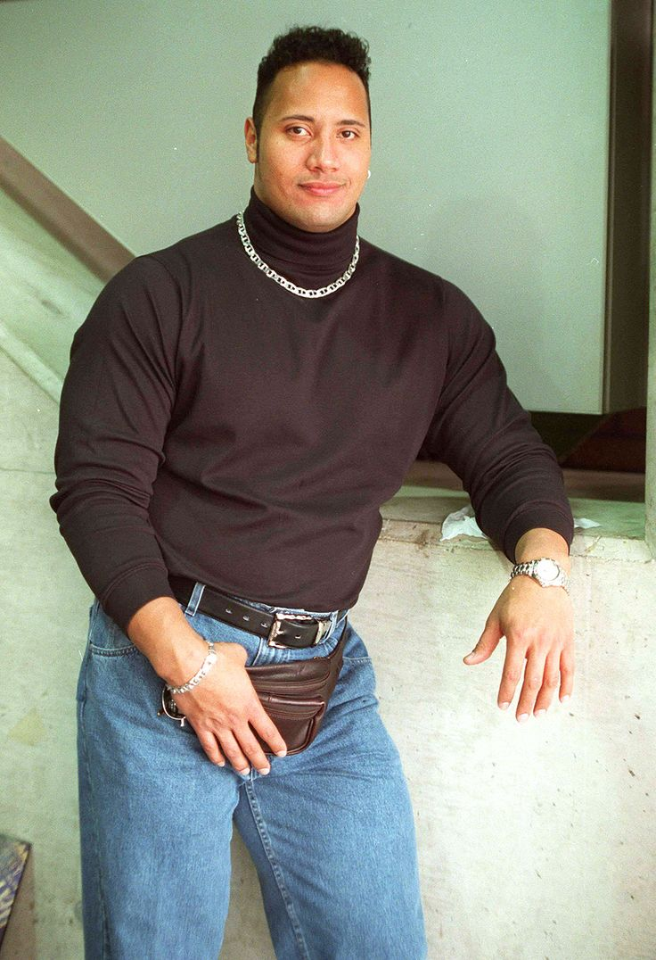Dwayne Johnson Used to Look Like This in the 90s: See The Rock's Fanny Pack, Chains, Turtleneck and More Retro Glory