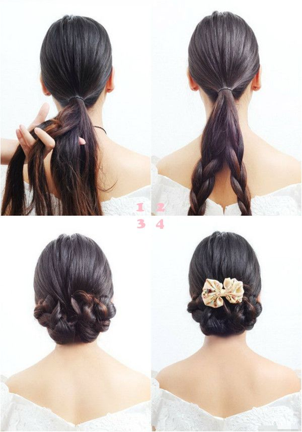 wedding hair style tutorial
