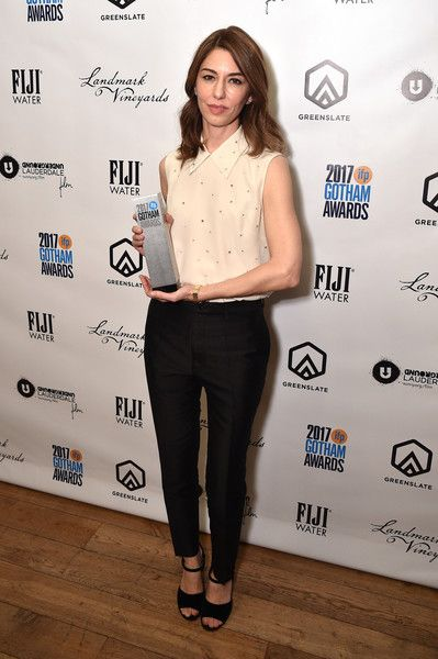 Sofia Coppola Photos - Sofia Coppola poses with her award at The 2017 IFP Gotham Independent Film Awards co-sponsored by Landmark Vineyards at Cipriani Wall Street on November 27, 2017 in New York City. - The 2017 IFP Gotham Independent Film Awards Co-Sponsored By Landmark Vineyards