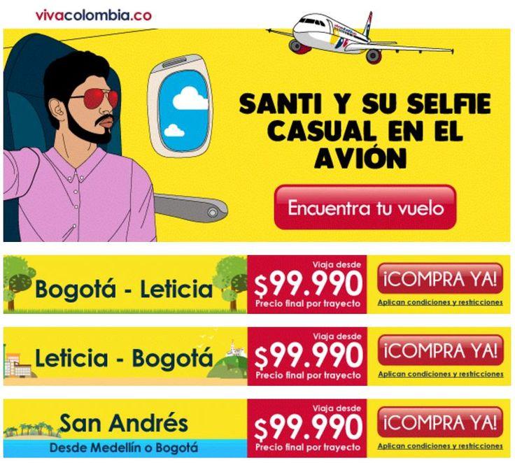 Los mejores precios con #GrupoAviacionYTurismo, compra en VivaColombia, Escríbenos +57 316 679 22 23