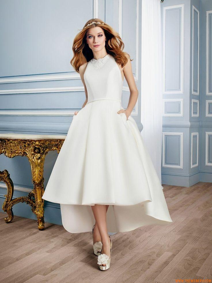 abiti da sposa da sposa in raso chiesa