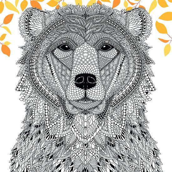 ≡ coloring page The Menagerie