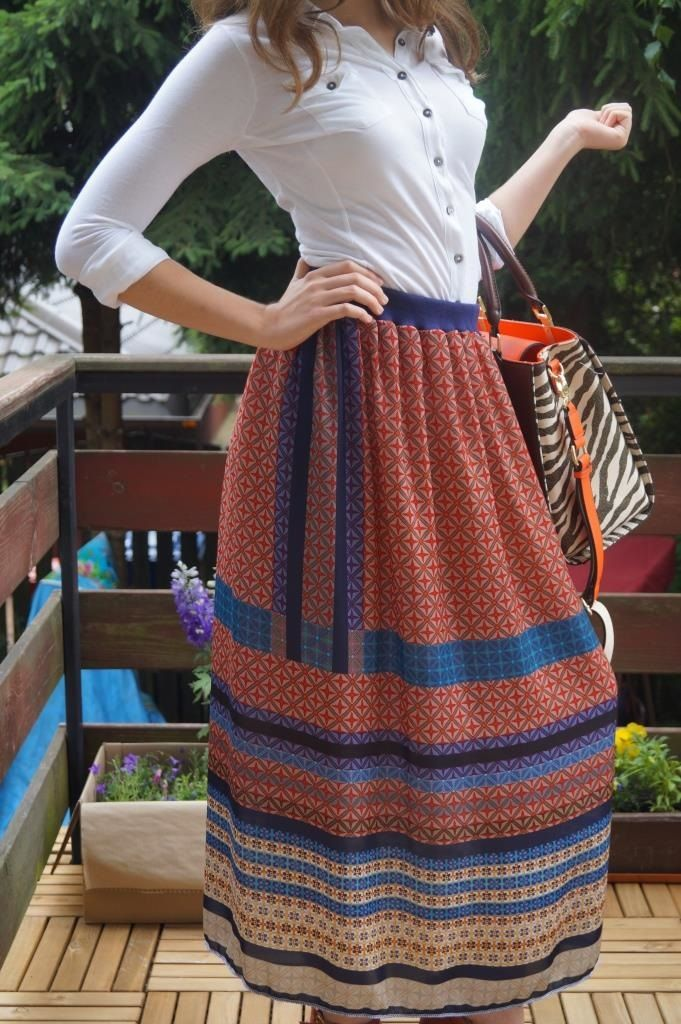 Boho skirt, by Puffka&Sue (rights reserved)