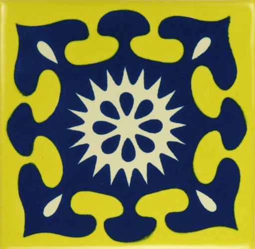Especial Decorative Tile - Salpicadura – Mexican Tile Designs