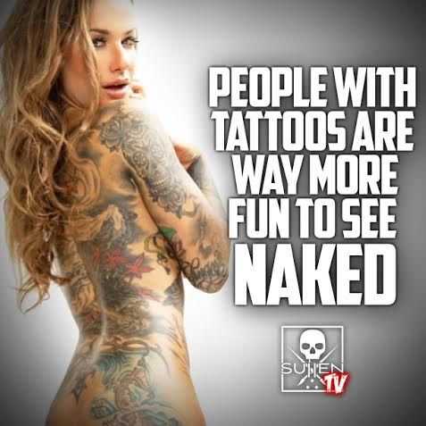 Naked People With Tattoos 103