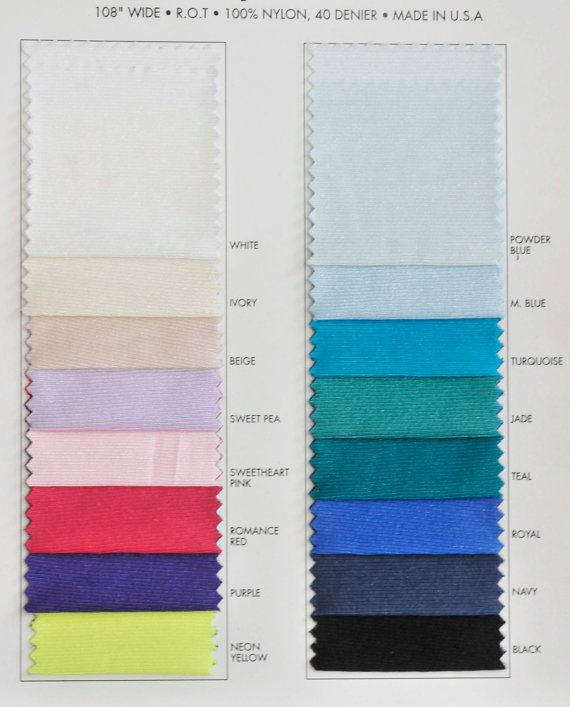 Nylon Tricot stretch fabric 40 denier. Sweetheart by missnancy48