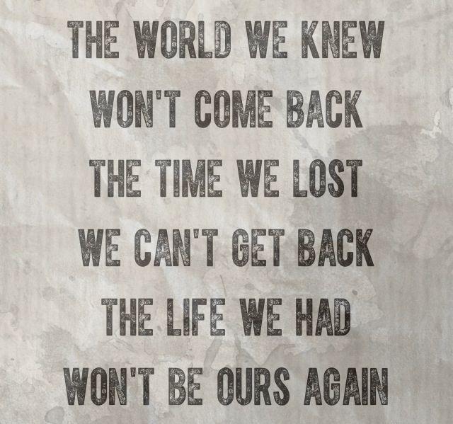 Three Days Grace-Never Too Late Lyrics