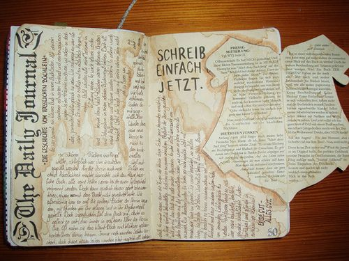how to write an intellectual journal