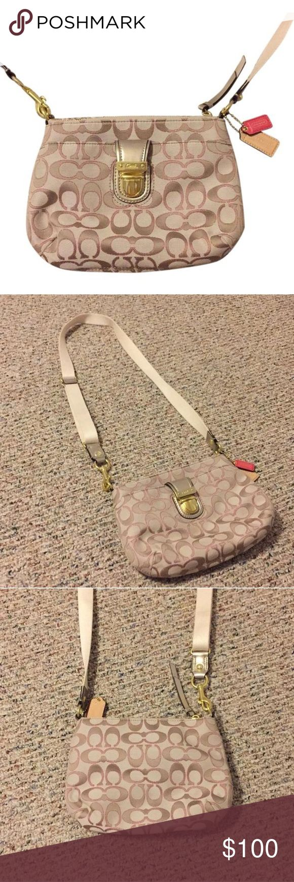Small Coach Messenger Bag New, never used Coach Bags Mini Bags