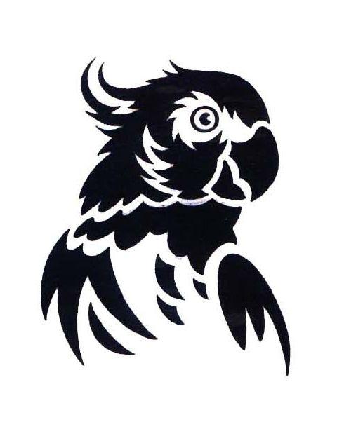 black-parrot-tattoo.jpg (480×622)                                                                                                                                                     More