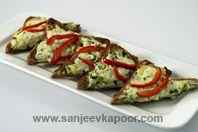 Masala Chilli Cheese Toast courtesy of Sanjeev Kapoor