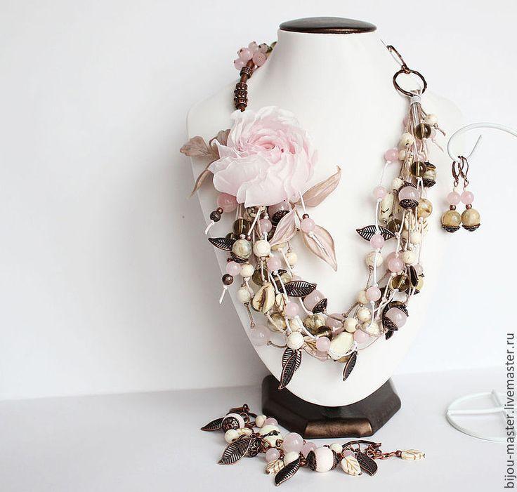 """Купить """"ПЕРСИДСКИЙ ШИПОВНИК"""" - комплект - бледно-розовый, розовый, нежно-розовый, кремовый, нежный комплект"""