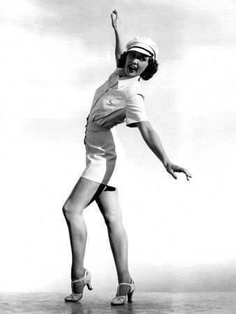 Eleanor Powell born 1912 in Springfield, Massachussetts. She started her career on Broadway in 1929, where her machine-gun foot work gained her the title of world champion in tapping...