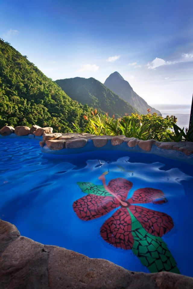 St. Lucia Ladera Resort - Explore the World with Travel Nerd Nici, one Country at a Time. http://TravelNerdNici.com