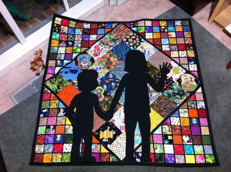 Will never make an I Spy quilt like this, but it's so fun to look at!