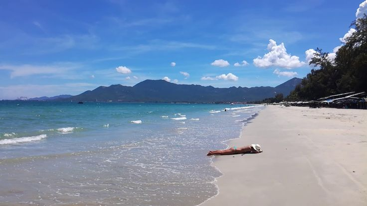Welcome to Doc Let Beach  Stretching for 18km, the chalk-white sands and shallow turquoise waters of Doc Let rank among Vietnam's best beaches.  #Vietnam #Beach #Sea #Travel #Doclet #nhatrang