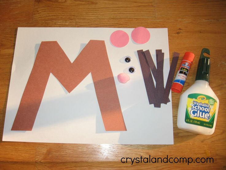 1000+ ideas about Letter M Crafts on Pinterest | M letter, Letter ...