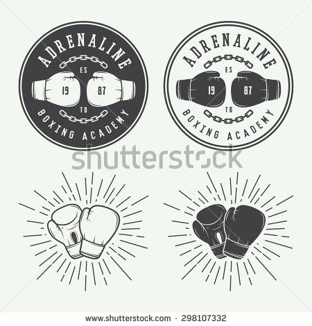stock-vector-boxing-and-martial-arts-logo-badges-and-labels-in-vintage-style-vector-illustration-298107332.jpg (450×470)