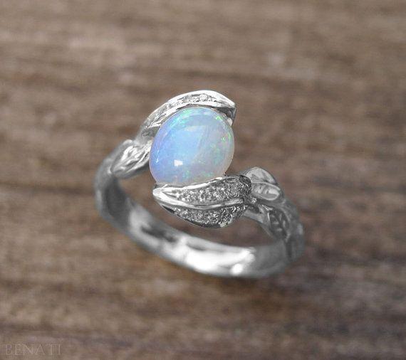 Basket Engagement Ring