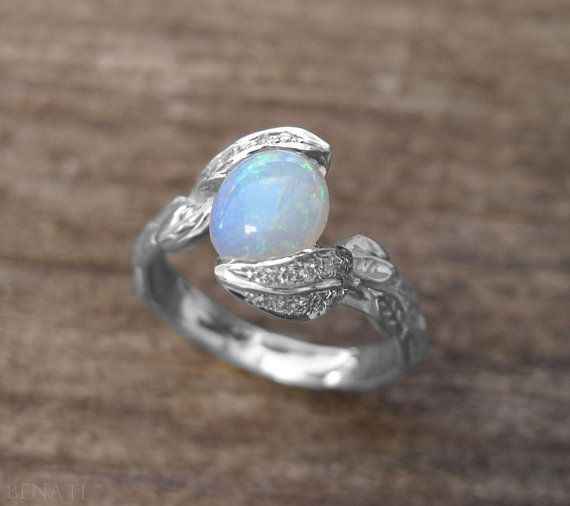 10+ Ideas About Leaf Engagement Ring On Pinterest