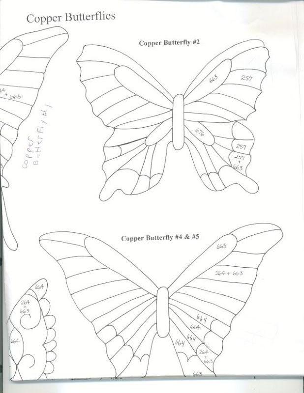 43 best 3D Butterflies! images on Pinterest Butterflies - lpo template