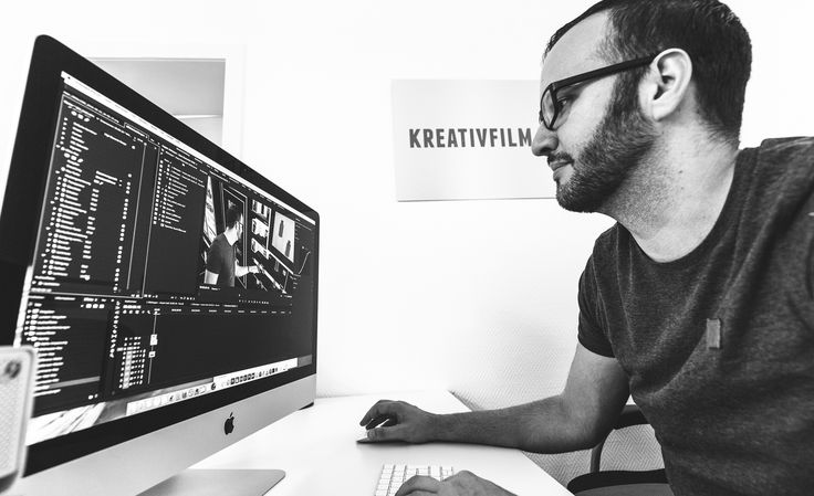 Post production in our office - (c) Kreativfilm.tv