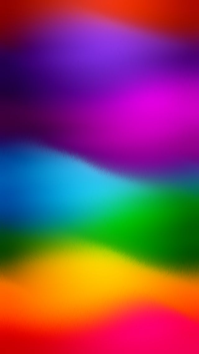 rainbow waves beautiful gradient iphone wallpapers