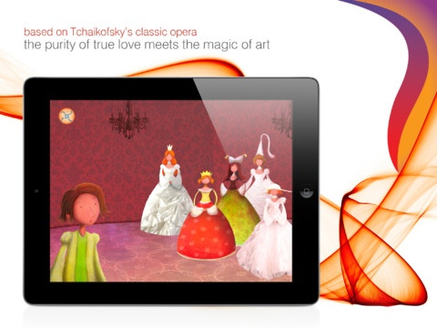 """The Swan Lake""  The world's most famous ballet is now a classic children's app book! Available on the AppStore"