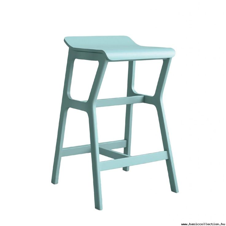 Niam barstool #basiccollection #bastool #wooden #blue #pastel #colours