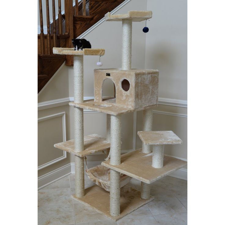 Armarkat Cat Jungle Gym Pet Furniture 72 in. Condo Scratcher - A7202 - A7202A