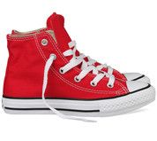 Rode Converse kinderschoenen All Star Hi gympen