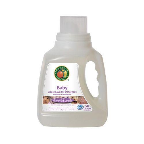 Detergent lichid pentru hainutele bebelusului. Este hipoalergenic si contine numai ingrediente de cea mai inalta calitate. Destul de delicat cu pielea sensibila a bebelusului, lasand hainutele curate si moi. Are ca baza plantele, este non-toxic, si responsabil cu mediul inconjurator. Acest sapun are in compozitie musetel si uleiuri esentiale organice de lavanda, si este potrivit pentru spalarea manuala sau automata a rufelor bebelusului , tesaturi fine, matase etc.