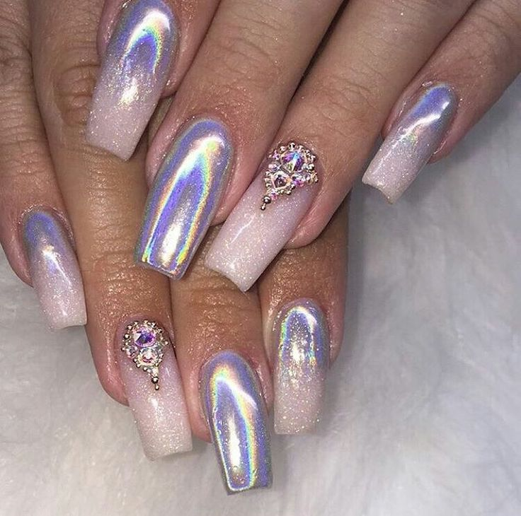 38 best Chrome Nails images on Pinterest | Chrome nails, Fingernail ...