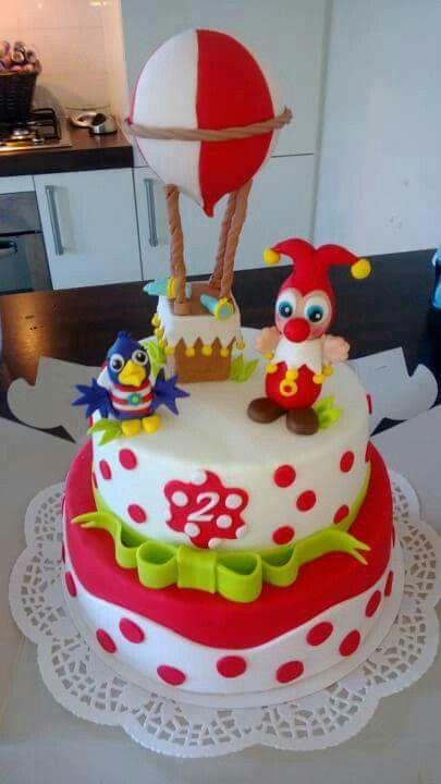 Efteling jokie en jet taart cake