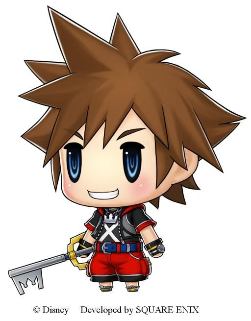 Sora : World Of Final Fantasy