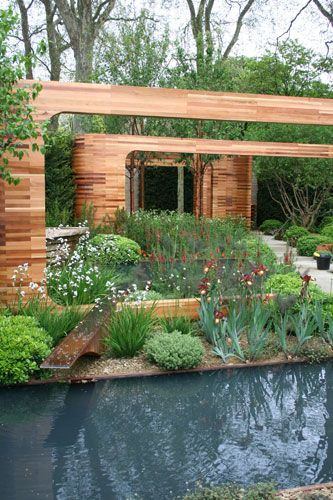 This year's Homebase Garden marks well-known garden designer and TV personality Joe Swift's first Show Garden design for RHS Chelsea.