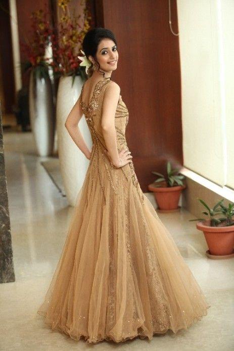 Wedding Bridal Bride Gown Dress Earth Toned